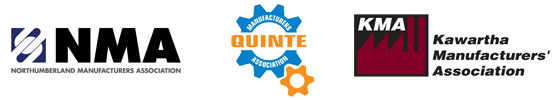 The Northumberland, Quinte and Kawartha Manufacturing Association Logos